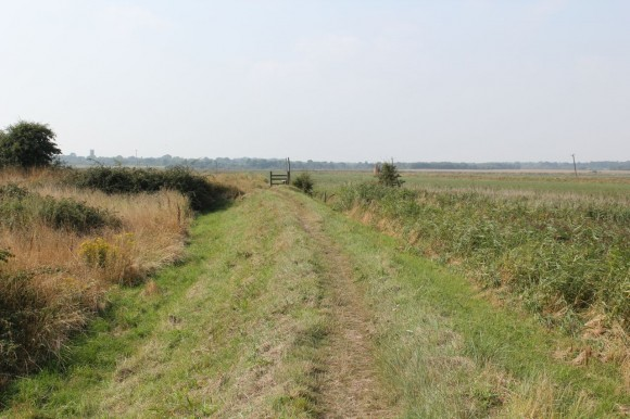 footpath near Buss Creek Southwold