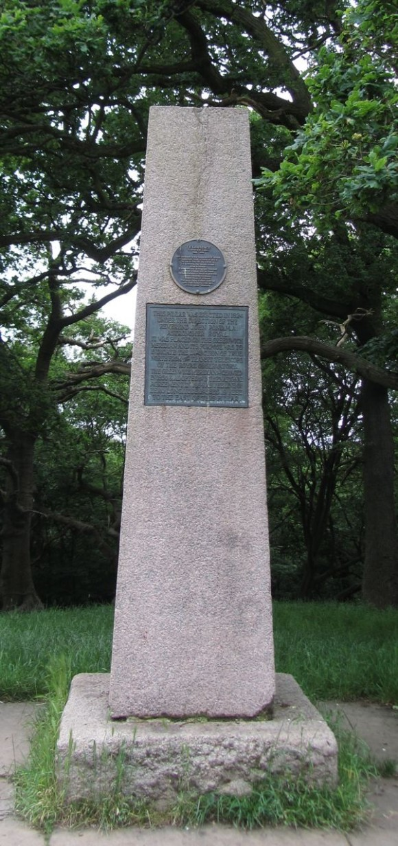 Pole Hill obelisk