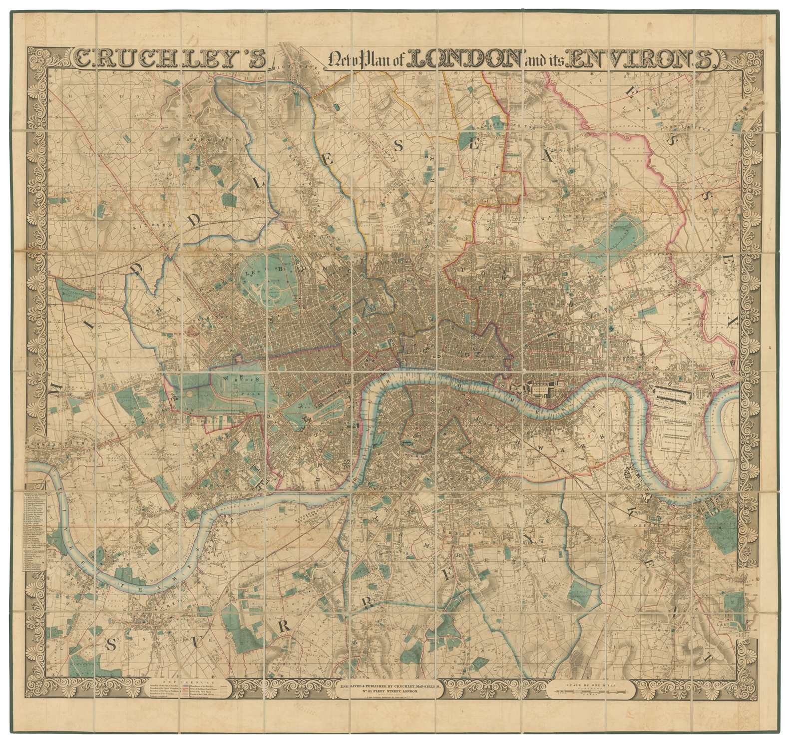 Old Maps Of London The Lost Byway