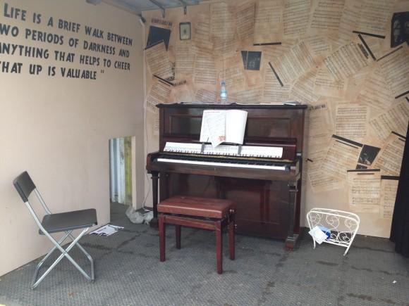 street piano greenway