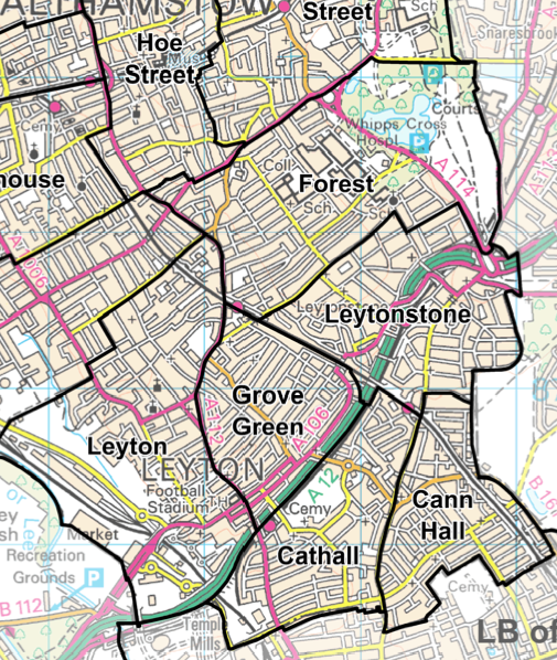 Leytonstone Council Wards