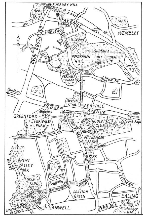 Hanwell Map