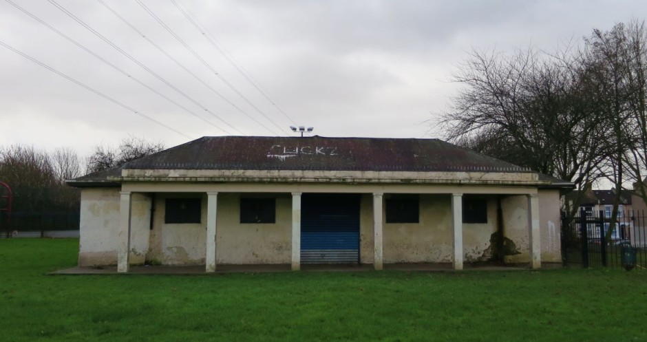 Little Ilford Park pavilion