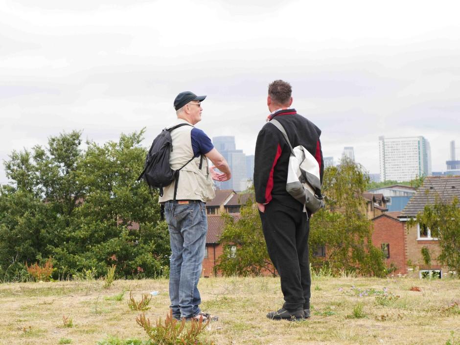 Iain Sinclair Andrew Kotting Overground film