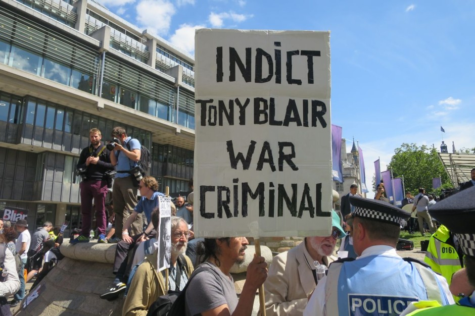 Chilcot Report Iraq War Protest