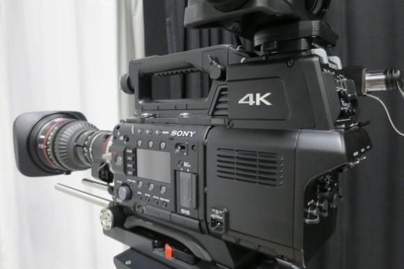 Sony F55 4K camera