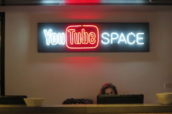 YouTube Space London Reception