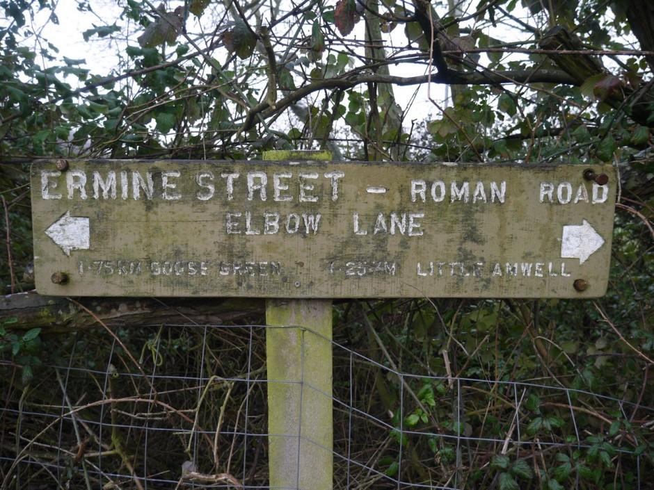 Ermine Street Elbow Lane