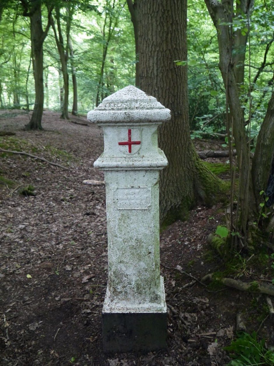 City of London Coal Tax Post, Wormley Wood