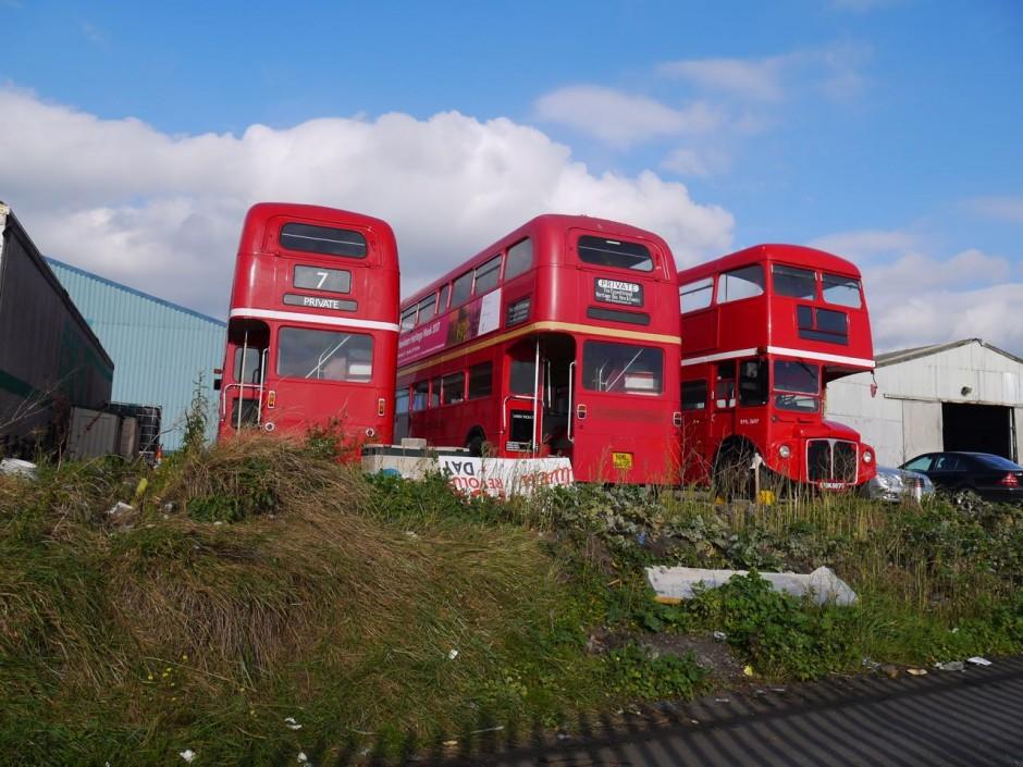 Routemaster buses rainham