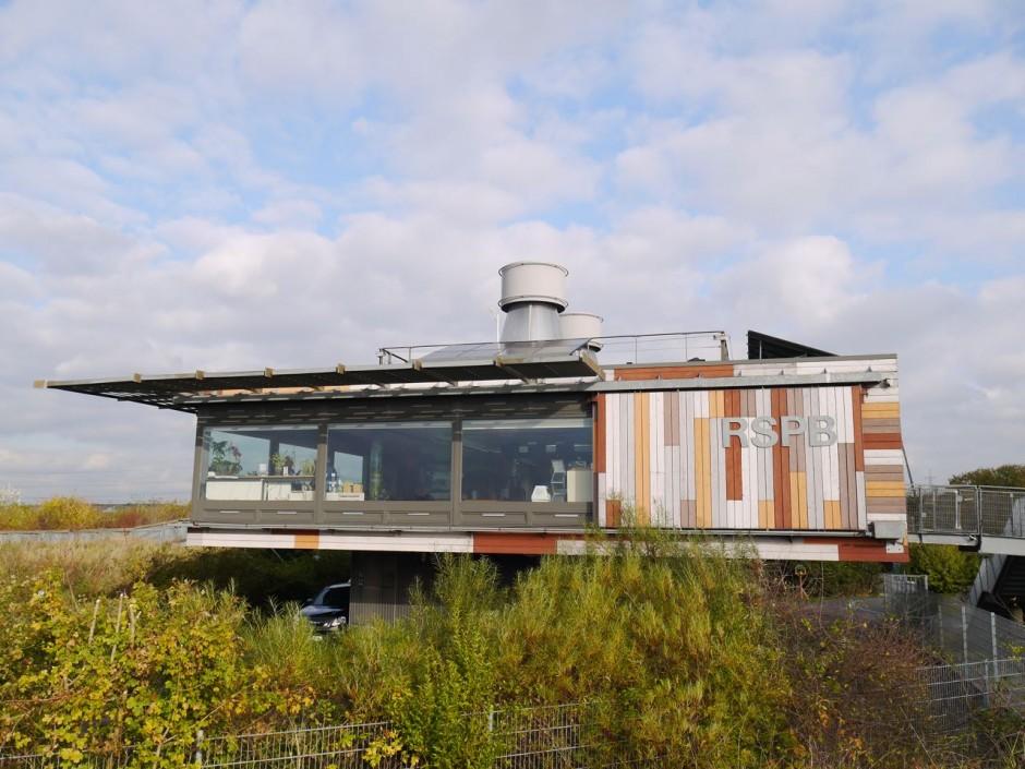 RSPB Rainham Marshes visitor centre