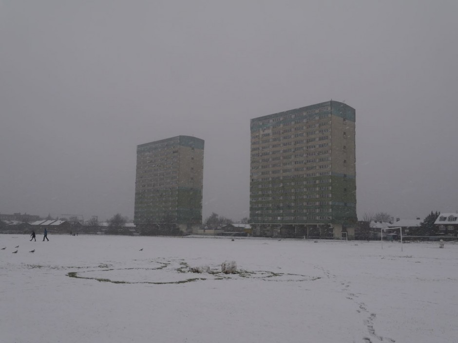 Fred Wigg and John Walsh Towers Leytonstone