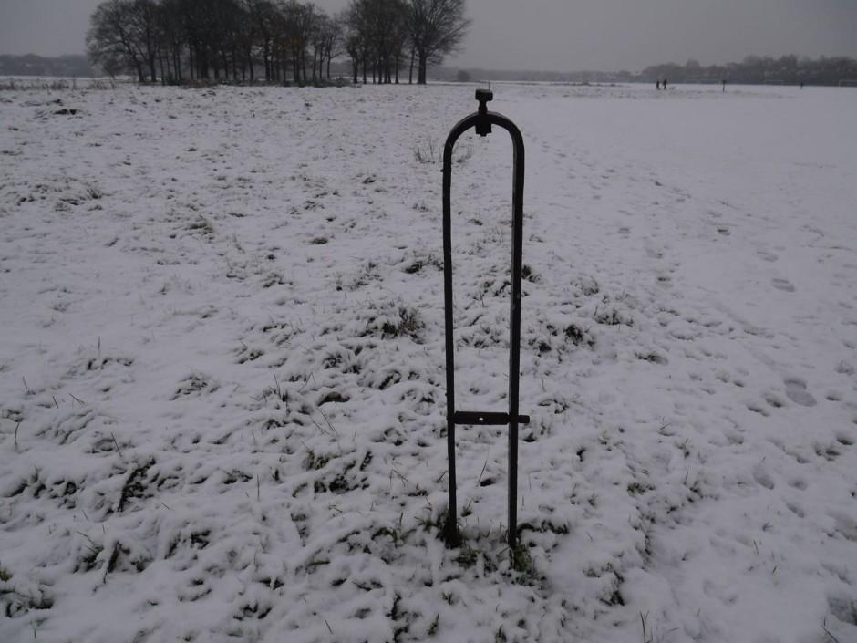 Barrage balloon posts Wanstead Flats