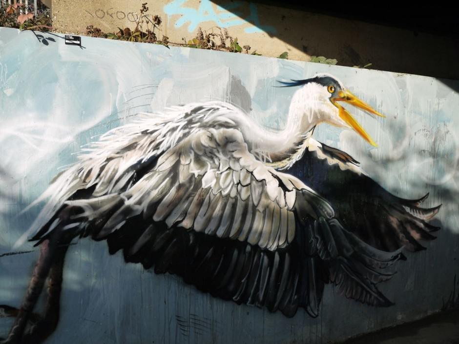 Mural Underpass Walthamstow Marshes
