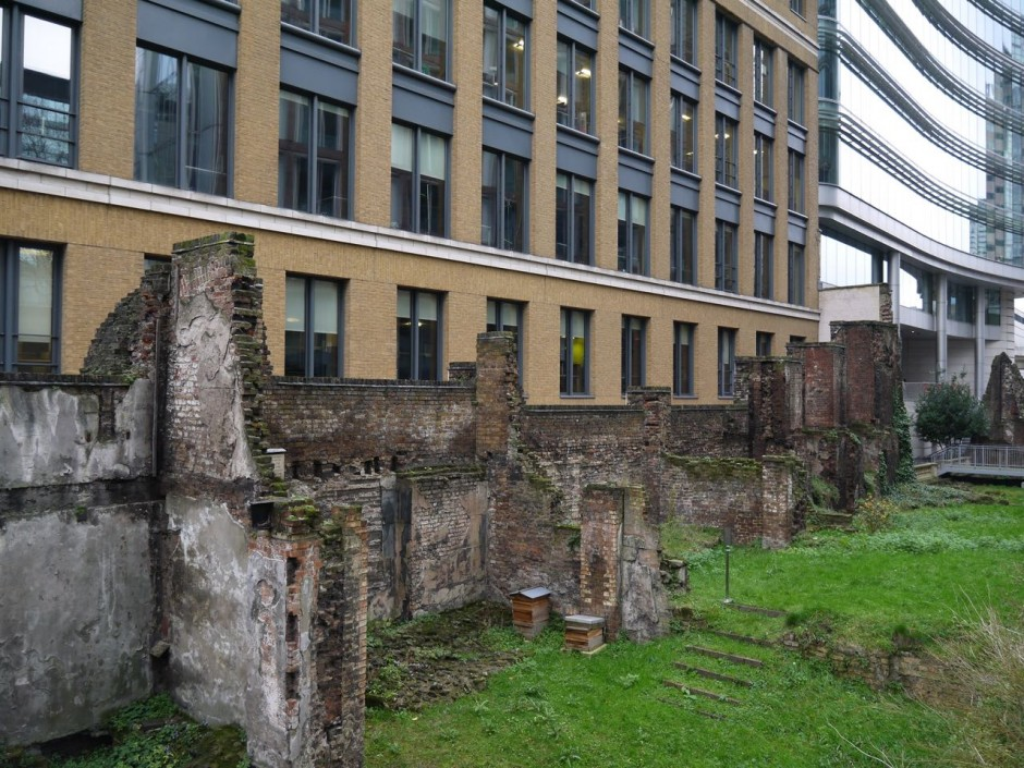 Roman Wall City of London