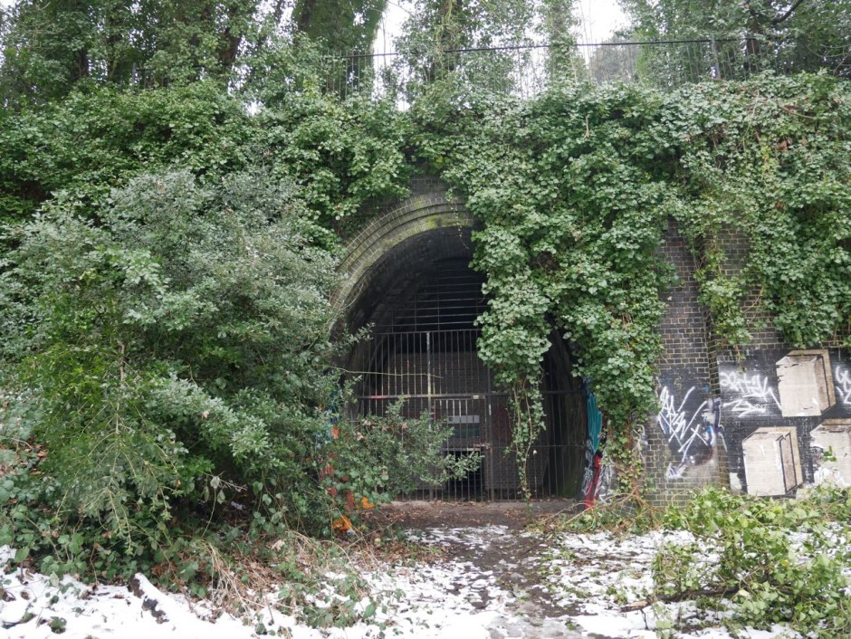 Parkland Walk Haringey tunnel