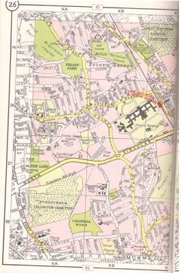 geographia london atlas 1955