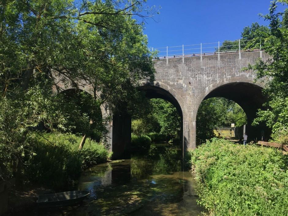 River Roding tube viaduct