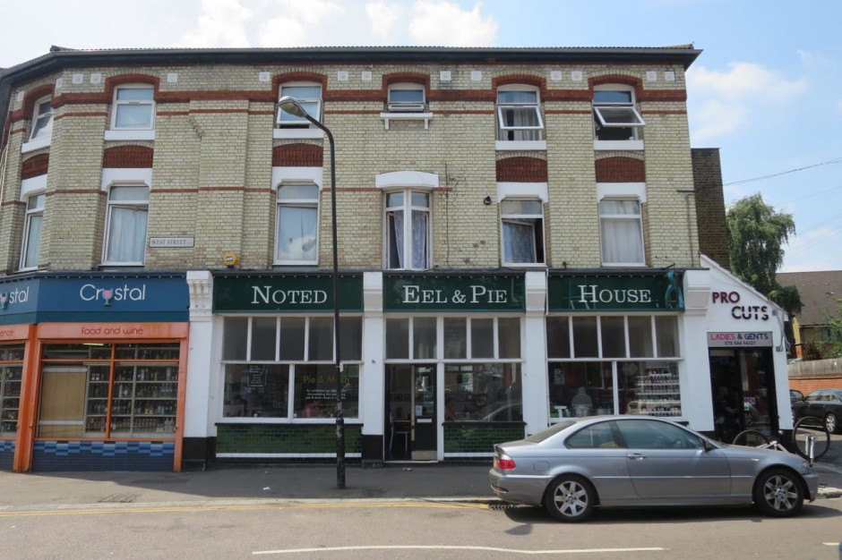 Noted Eel and Pie House Leytonstone