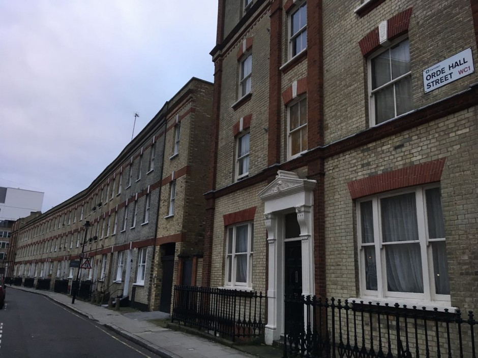 Orde Hall Street WC1