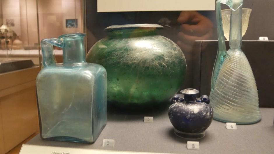 Romano British burial artefacts