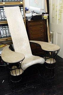 Will Self writing chair